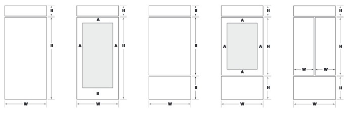Image refrigerator dimensions